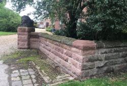 Sandstone gateway Cheshire8