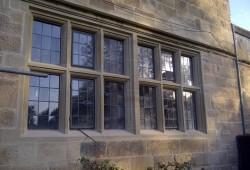 Full sandstone window. Cill\'s, jamb\'s, transom\'s, & lintel\'s